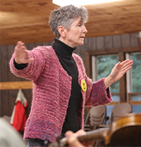 Judy Minot will be part of the faculty at Folk College 2016