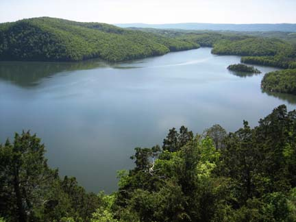 Raystown Lake, an 8,000 acre lake, is a very short drive from Huntingdon.